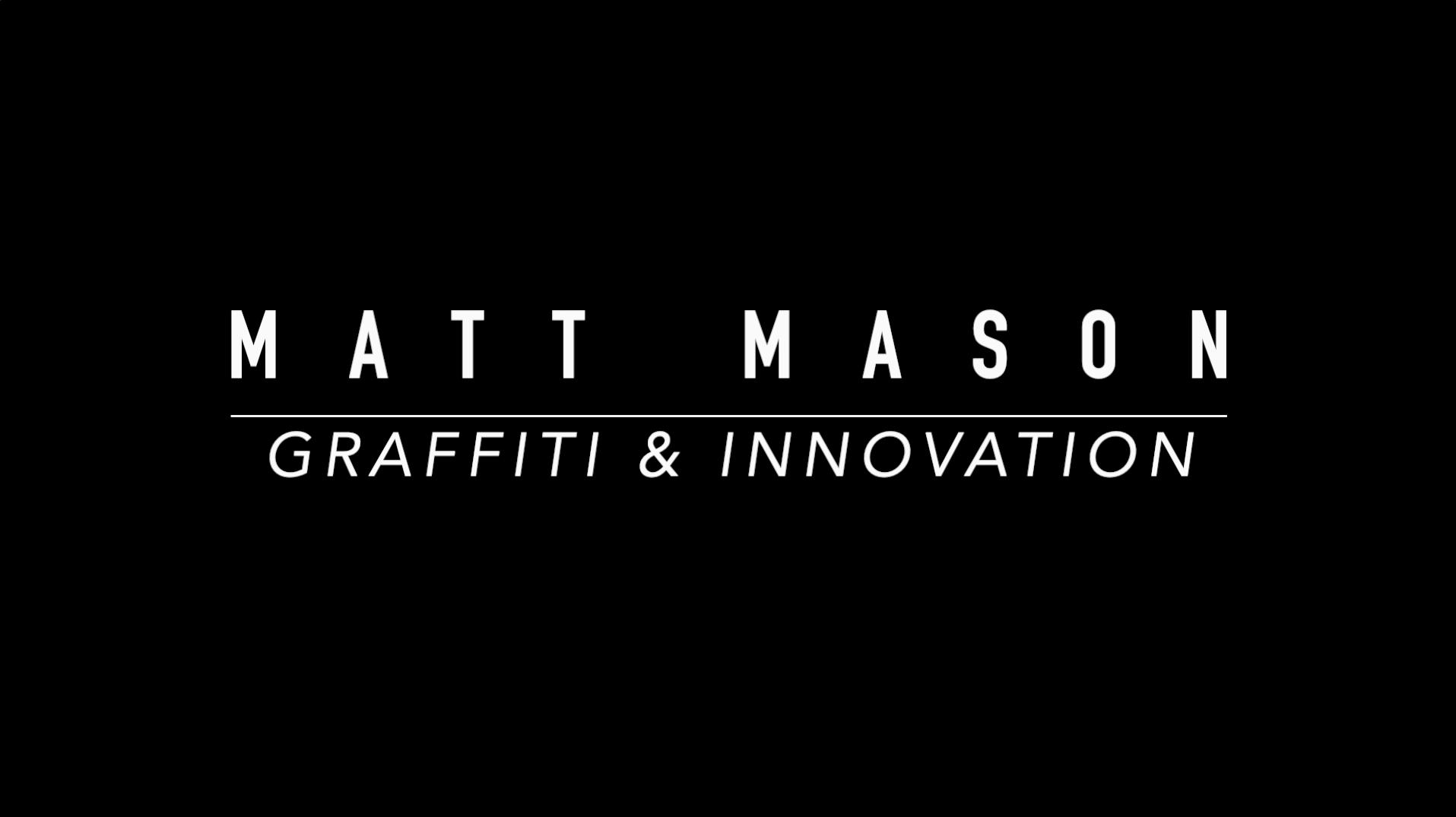 Matt Mason - Graffiti and innovation